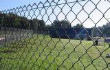 Barriera di sicurezza rivestita d'acciaio di collegamento Chain della rete metallica di obbligazione Fences/PVC delle guardavie del metallo di potere del giardino di BACCANO rivestito di obbligazione Fence/ASTM