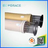 Paño ignífugo excelente del filtro de aire de Nomex del funcionamiento para la filtración del gas de la planta del cemento