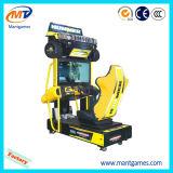 運転する電子シミュレーターアーケード・ゲーム機械によって指名されるMoto Gp4を競争させる