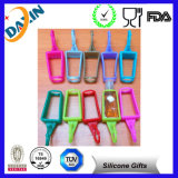 Pet Bottle를 가진 귀여운 Portable Empty Hand Silicone Sanitizer Holders