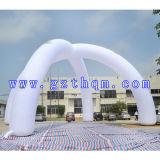Voûtes gonflables blanches/voûtes gonflables de publicité promotionnelles