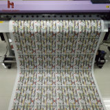 45GSM, 64 '' larguras, 300m comprimento, baixo rolo do papel de transferência do Sublimation do peso para a matéria têxtil e vestuário da forma