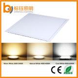 El panel ultrafino 48W de la luz de techo del LED 600*600m m para el sitio de la cubierta y de la reunión
