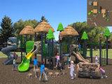 Campo da giuoco esterno dei bambini di tema della foresta di medie dimensioni di Kaiqi (KQ10144A)