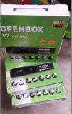 De digitale dvb-T2 van Openbox van de Ontvanger HD Combo V7 dvb-S2 Ontvanger van Combo