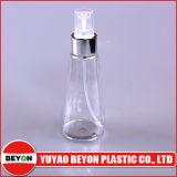 Bouteille en plastique d'animal familier de forme conique chaude de la vente 120ml pour l'empaquetage cosmétique