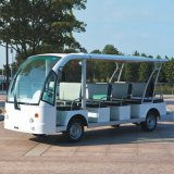 Fabricantes blanca al por mayor 14 Seaters eléctrico Sightseeing coches (DN-14)