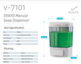 Automaat v-7101 van de Zeep van de badkamers