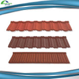 Wholesaling Stone Chips Revêtue 7 Waves Metal Classical Roof Tile