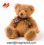 Urso de assento da peluche do luxuoso com material macio