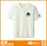Deportes de los hombres que funcionan con la camiseta seca del ajuste