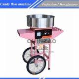 자유로운 서 있는 손수레 솜사탕 Floss 기계 상업적인 식사 기계 Mf05