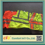 Lavoro Wear High Visibility Safety Reflective Vest con Pocket