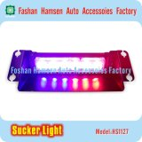 Traffic Auto Emergency Light Sucker LED Dash Warning Strobe Light pour Police Fire Fighter