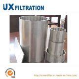 Tela de engranzamento do filtro do fio da cunha Ss304