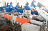 LDPE Waste Plastic Film Recycling Line del PE pp con 500kg/Hour