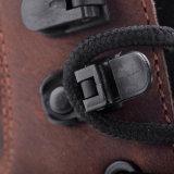 Zapatos de seguridad de cuero de Nubuck del alto corte con el talón M-8359 del amortiguador de choque