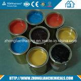 Colorear la goma negra/amarillo para la esponja de la espuma de la PU