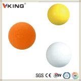 China grabada modificada para requisitos particulares hizo la bola de lacrosse del caucho de silicón