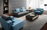 2016 베스트셀러 아름다운 현대 디자인 거실 직물 소파 (HC1407A)
