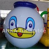 PVC inflável que anuncia balões
