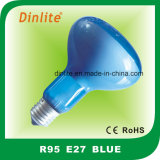 R95-B22 75W Blue Refelctor Bulb
