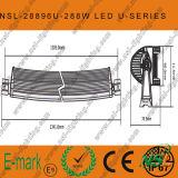 288W CREE gebogener LED heller Stab weg vom Straßen-Fahren