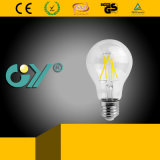 ampola do diodo emissor de luz do filamento de 4000k 4W com CE RoHS