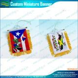 De decoratie gebruikte de Mini Hangende Wimpel van het Satijn van de Banner (m-NF12F10010)