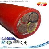Медный силовой кабель PVC кабеля 16AWG проводника