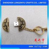 Leverancier Van uitstekende kwaliteit van de Ketting van het Metaal USB van de douane de Zeer belangrijke