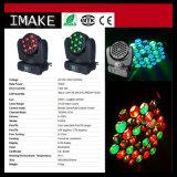 Indicatore luminoso capo mobile con lo stroboscopio, funzione dello zoom LED della lavata di pendenza