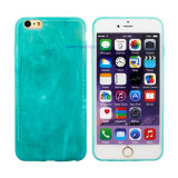 De groene Slanke Zachte Mobiele Dekking TPU/het Geval van de Jade ultra voor Samsung/iPhone