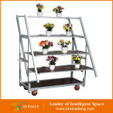 Puder Coating Flower Transport Cart für Sale