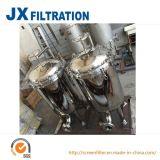 Boîtier de filtre à manches pour le traitement des eaux