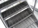 Escada/Grating galvanizados aço em barra