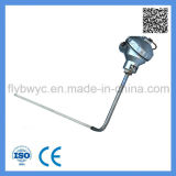 Uso Industrial 0-1300c S Asamblea Plaza de ángulo de la sonda termopar tipo de sensor de temperatura