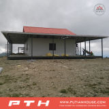 Camera d'acciaio semplice della villa della costruzione con il disegno privato e Insullation