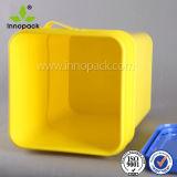 Quadratischer Behälter des Nahrungsmittelgrad-20L mit Kappen-quadratischer Plastikwanne