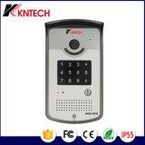 De vídeo IP de la puerta de intercomunicación teléfono de Control de Acceso Knzd-42 De Kntech