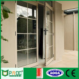Aluminum Casement Door with Grill