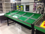 Crémaillère d'étalage végétale de supermarché de qualité