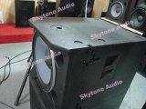 """Casella dell'altoparlante di Subwoofer del sistema di altoparlante professionale di Skytone Vrx918s 18 """""""