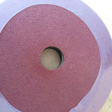 Dischi della fibra dell'ossido di alluminio 0.8mm per il polacco del metallo