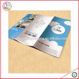 Folheto de papel tradicional da impressão de Commerical