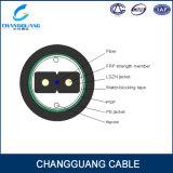 Câble d'interface extérieur de fibre de Gjxfha FTTH d'utilisation de conduit