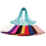 Lenço de seda puro do projeto 2016 novo para o xaile do envoltório das mulheres