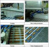 Automatische Nahrungsmittelvakuumkarte Thermoforming Verpackungsmaschine