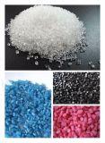 ポリマー材料を混合するための対ねじ放出