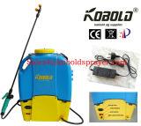spruzzatore dell'azienda agricola 16L, spruzzatore della batteria, 12V9ah batteria, pompa a diaframma 12V